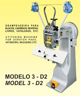Máquina de coser a arame MIRUNA 3-D2